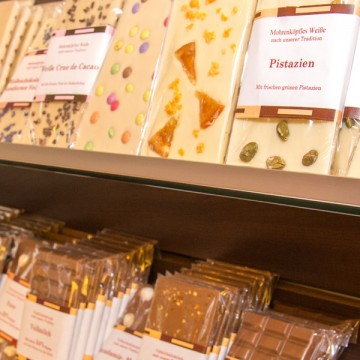 Schoki, Schokolade, Selbst gemachte Schokolade, Schokoladen-Manufaktur Ulm